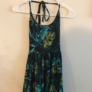 American Apparel Jungle Skater Dress